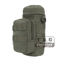 Emerson Tactical MOLLE H2O Hydration Water Bottle Carrier Pouch Kettle Utility Pocket EmersonGear Water Bag Waist Shoulder Packs
