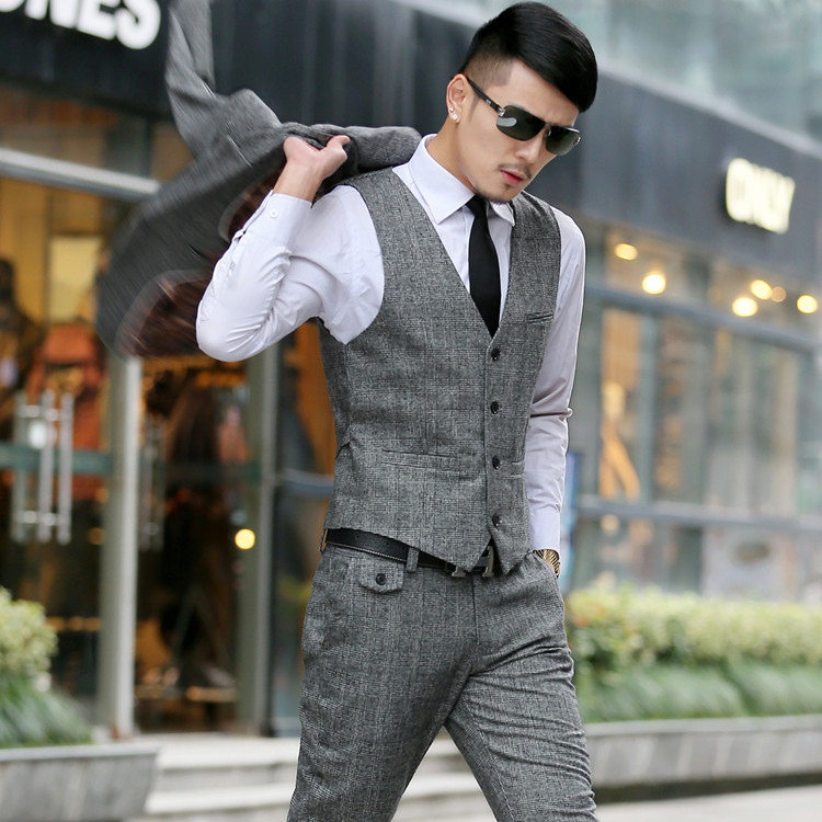 2015 New Arrival Mens Suits High Quality Wool Suit Men Fashion ...