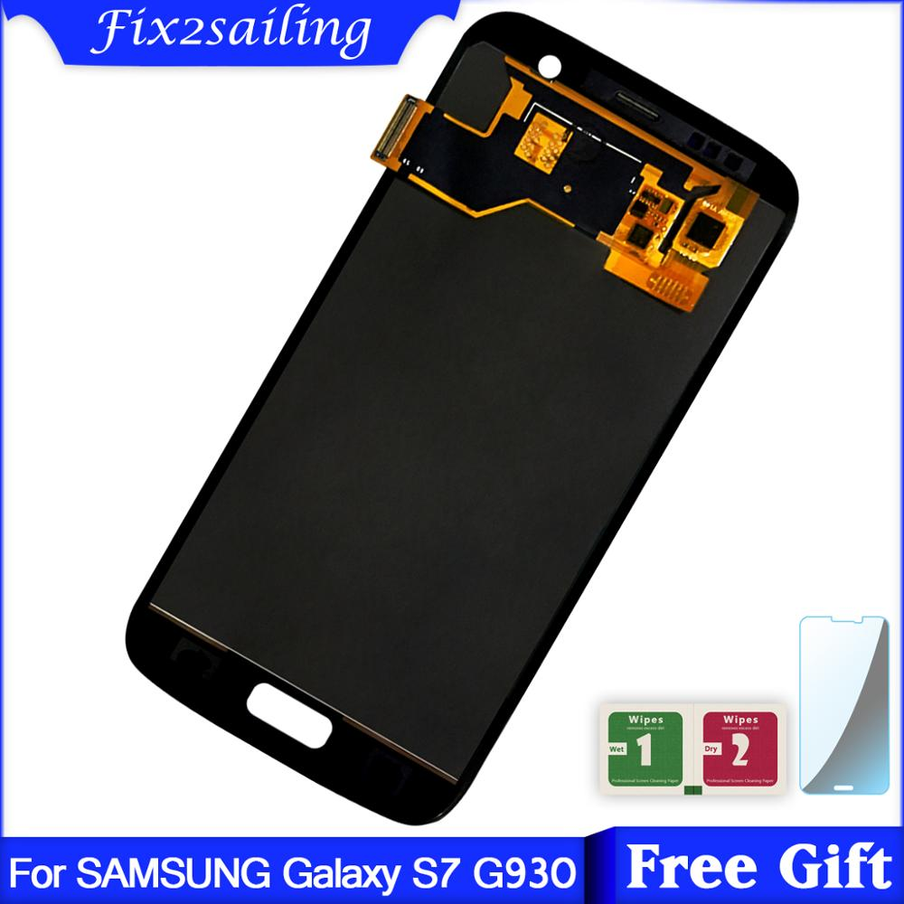 SUPER AMOLED LCD for SAMSUNG Galaxy S7 G930 G930F LCD Display + Touch Screen Free ShippingSUPER AMOLED LCD for SAMSUNG Galaxy S7 G930 G930F LCD Display + Touch Screen Free Shipping