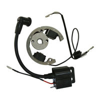 Motorcycle Ignition Coil Magnetic coil Stator Flywheel For KTM 50 SX 50cc Pro Senior Junior SR JR KTM50 2001 2008