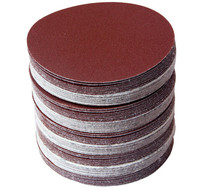 30 قطعة 4 بوصة 100 مللي متر قرص الصنفرة المستديرة صفائح الرمل حصى 320/400/600/800/1000/1500/هوك حلقة الرملي القرص لصقل ساندر