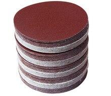 Disco de lija redondo de 4 pulgadas y 100mm, 30 Uds., grano 320/400/600/800/1000/1500, disco de lijado de bucle de gancho para lijadora