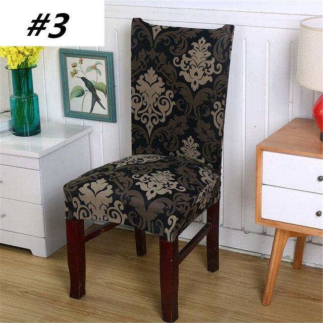 Großartig AntiFouling Stuhl Kappe Hussen Esszimmer Polyester Spandex Stuhlhussen Für  Hotel Bankett Elastische Stretch Stuhlabdeckung