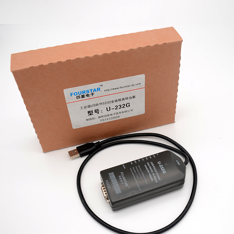 USB to RS232 full line isolated converter baud rate 300bps 1Mbps to support a variety of PLC and other industrial equipment in Industrial Computer Accessories from Computer Office