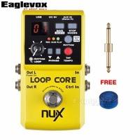 NUX Loop Core Guitar Effect Pedal 40 Built In Drum Patterns And 99 User Memories 6