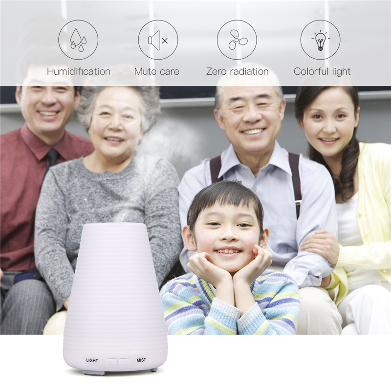 Ultrasonic Humidifier Purifier Mist Maker Essential Oil Diffuser Aroma Diffuser Aromatherapy Difusor umidificador 7 Colors LED цена