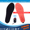 NEW Electric Warm Heated Insole With Remote Control Winter Breathable Thick Plush Insoles Shoes Boots Soles