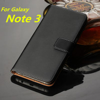 Note3 Wallet Leather Case For Samsung Galaxy Note 3 Case Luxury Flip Cover For Samsung Note