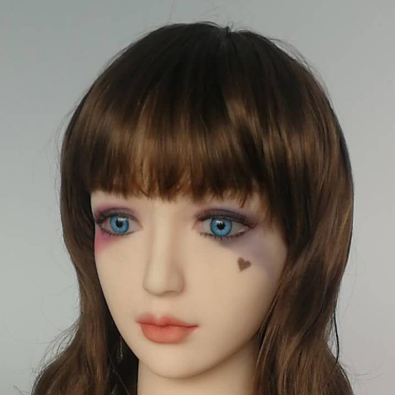 tpe Silicone Oral Sex Doll Head with Wig for Love Doll of 140 to 172cm Adult Big Body in Sex Dolls from Beauty Health
