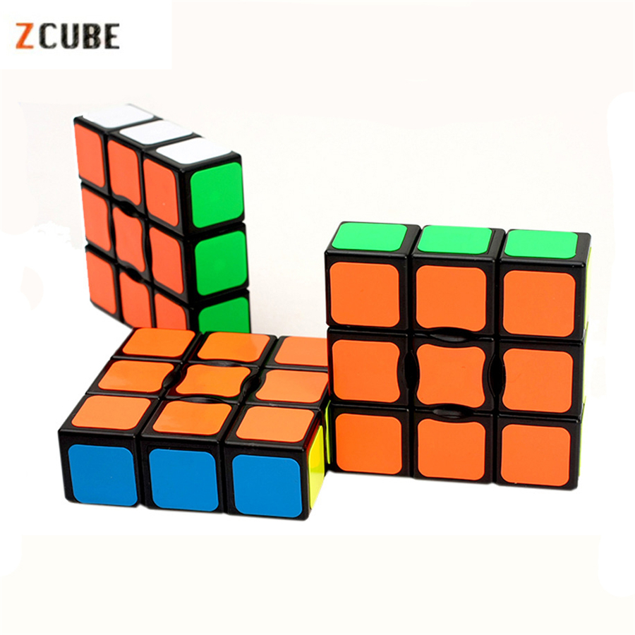 Newest ZCUBE 133 Magic Cube 1x3x3 Floppy Magic Cube Puzzle Brain Teaser Cubes Toys For Children Kids Cubo Magico