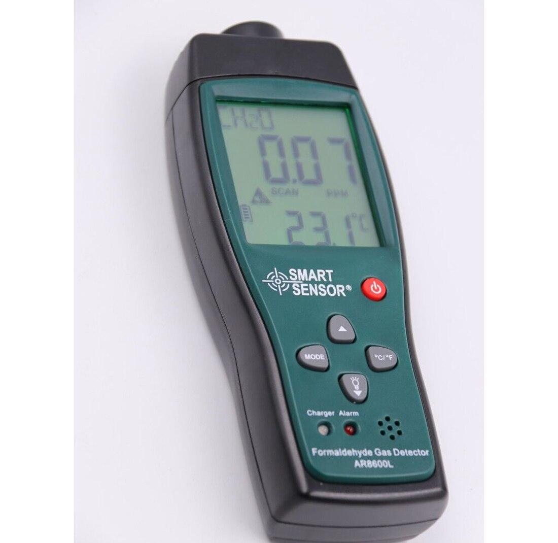 Formaldéhyde détecteur de gaz Portable Air Qualité Détecteur