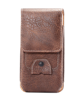 Vertical Man Outdoor Belt Clip Synthetic Leather Mobile Phone Case Card Pouch For Samsung Galaxy S6