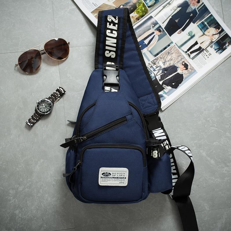 Male Shoulder Bags Sling Bag Men Chest Pack Messenger Bags Bolsa De Ombro Homens Male Small Tight Shoulder Bag Summer Crossbody
