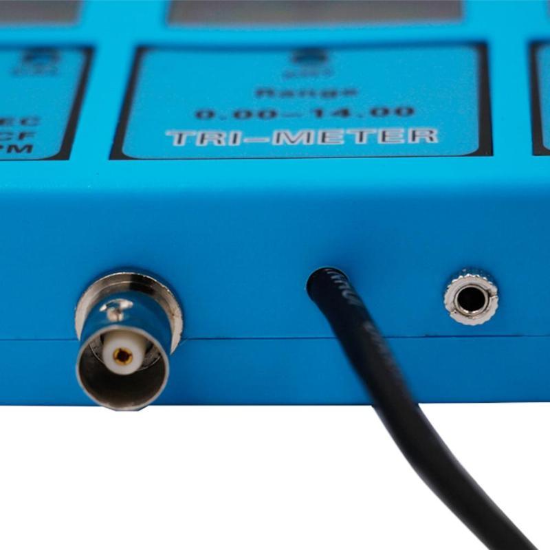 5 в 1 мульти параметры воды тестер качества монитор lcd pH EC CF TDS измеритель температуры кислотометр анализ качества воды устройство - 4