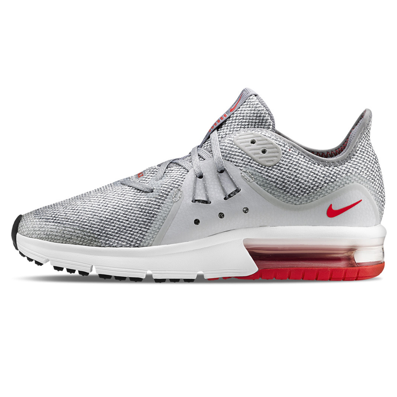 cheap for discount 7b11d ec88c Original Nike Air Max Sequent 3 Mens Running Shoes ,Light Gray, Shock  Absorption Wear Resistant Non-slip Breathable 921694 060