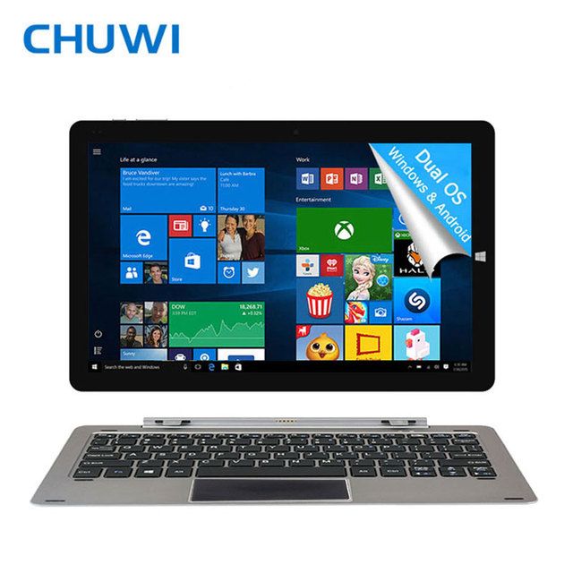 12 дюймовый планшет CHUWI Hi12 двойная загрузка 4 ГБ оперативной памяти DDR3 Intel Z8350 / 64 ГБ ROM Wifi микро-hdmi OTG микро USB3.0 мини-кабель планшет ноутбук Windows+Android
