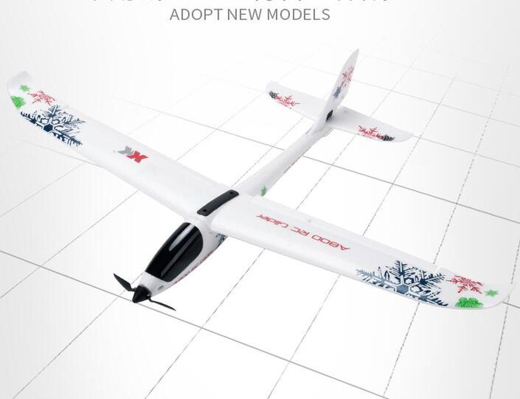 Image 5 - Aircraft Model A800 5CH 3D 6G Mode 780mm Wingspan Fly Aircraft RC Airplane RTR Fixed Wing RC Plane Children Xmas Birthday Gift-in RC Airplanes from Toys & Hobbies