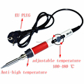 EU plug CXG 70W Electric iron constant temperature Adjustable temperature Electric Soldering station Free shipping