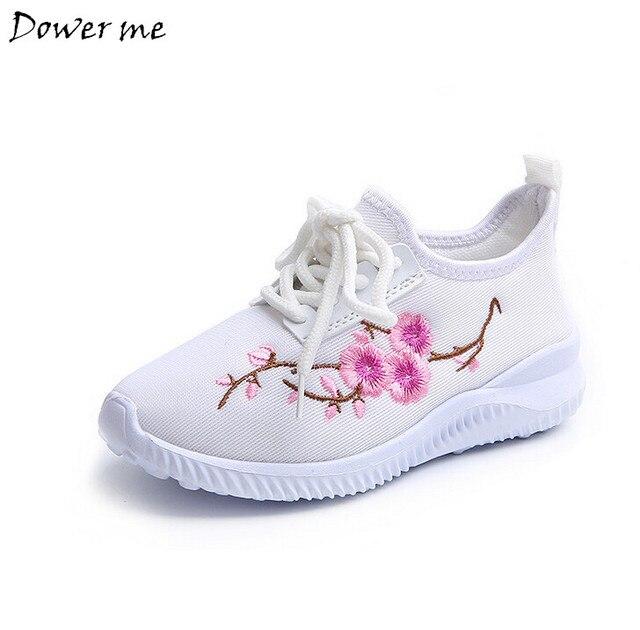 Kinderschoenen Voor Meisjes.Herfst Kinderschoenen Meisjes Sneaker Fashion Casual Schoenen Met