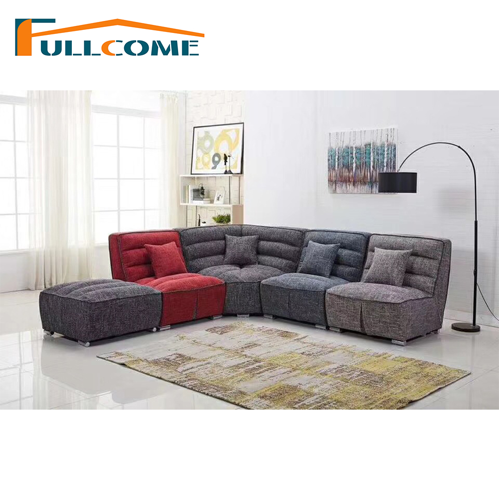 China Home Furniture Modern Leather Scandinavian Sofa Love Seat ...