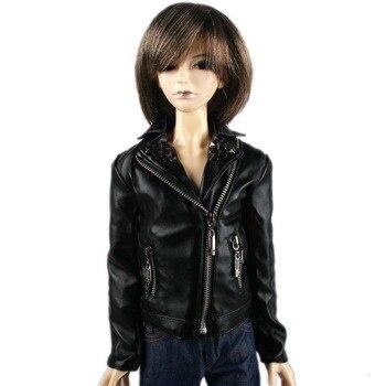 [ Wamami ] 770 # черная кожаная куртка пальто SD17 DZ AOD DOD бжд Dollfie