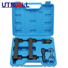 Auto Engine Timing Tool Set Kit for VAG 2.4 & 3.2, FSI Audi V6, V8, V10 18pc engine injector puller removal installer tool set for vag audi vw fsi petrol