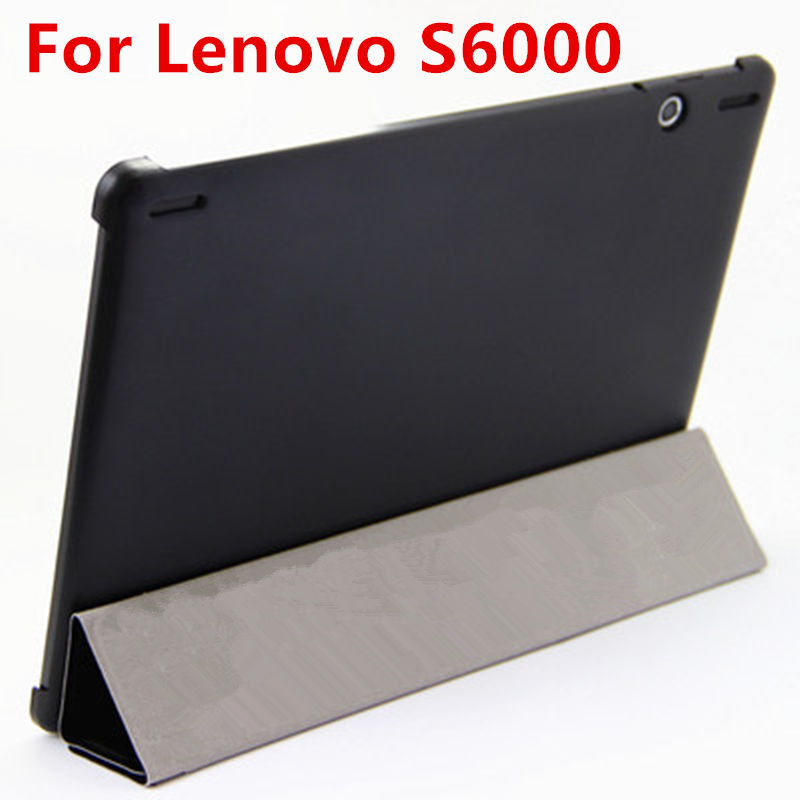 Case For Lenovo S6000 Smart cover Leather Protective Tablet For Ideatab S6000H S6000F S6000G 10.1 inch PU Protector Sleeve Case аксессуар чехол lenovo ideatab s6000 g case executive white page 7