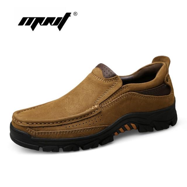 Plus Größe Männer Stiefel Vintage Volles Echtes Leder Herbst Stiefeletten Beste Qualität Tragen-wider Gummi Schuhe Männer