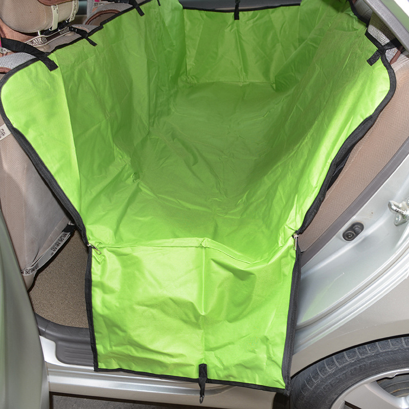Waterproof Car Seat Cover for Pets Oxford Cloth Pet Dog Carrier Car Rear Seat Cover Hammock Cushion Pet Accessories