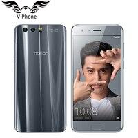 Original Huawei Honor 9 4G LTE Mobile Phone 5.15' Kirin 960 Octa Core 6GB RAM 64GB ROM Dual Rear 1920*1080P  Fingerprint NFC