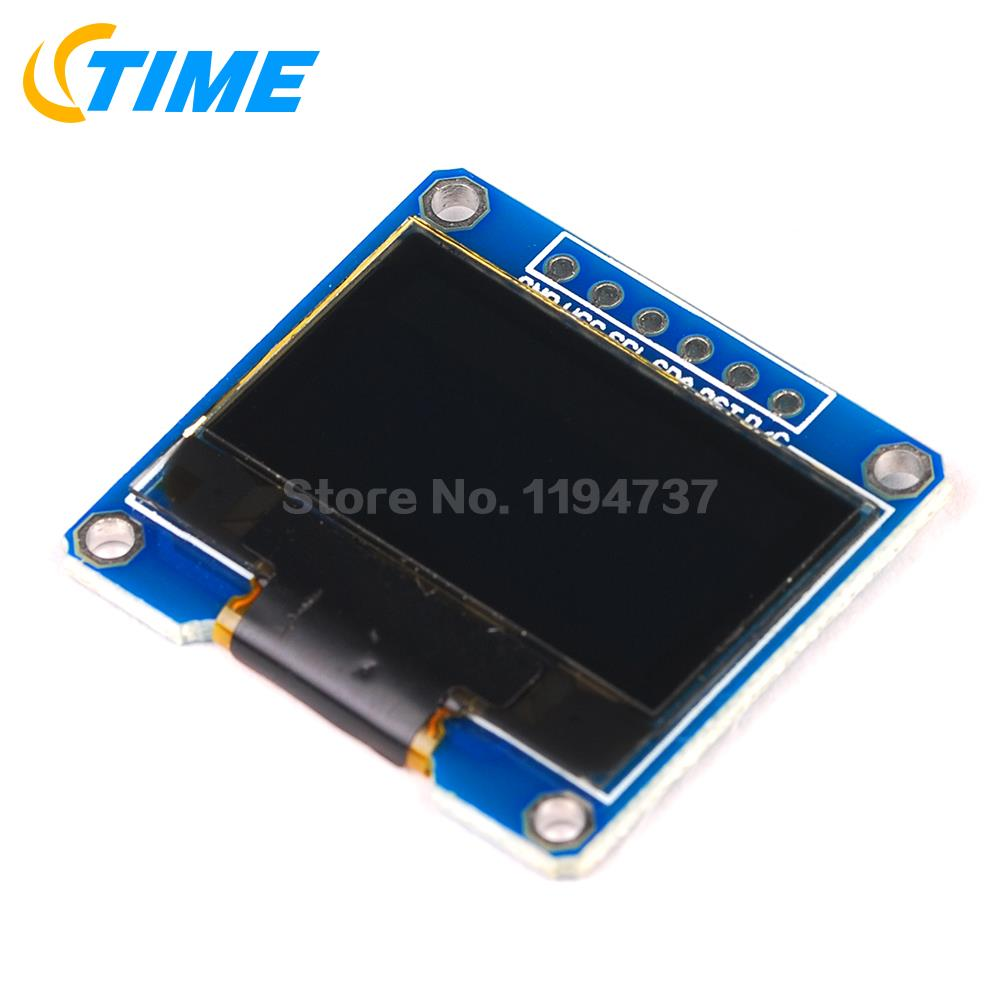 1PCS Yellow Blue Double Color 128X64 OLED LCD LED Display Module 0.96 I2C IIC SPI Serial