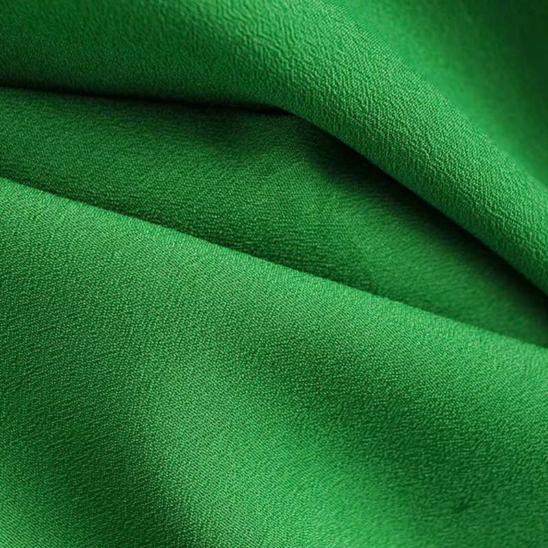 Spring Summer Women Green Fashion Za Pleated Shirts 2019 New Sweet Cascading Ruffles Long Sleeve Blouse blusas mujer de moda