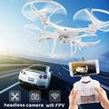 X6 FPV RC Мультикоптер Drone с WI-FI 200 Вт Камеры HD 2.4 Г 6-осевой Беспилотный Одним Из Ключевых Возвращения Обезглавленный Модель RTF 4CH Вертолет Мальчик Toys