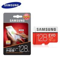 Для go pro samsung оригинальные карты памяти 64 ГБ 128 ГБ 256 ГБ карт sd 32 ГБ EVO + U3 Class10 Micro SD карты Tarjeta де memoria 16 ГБ