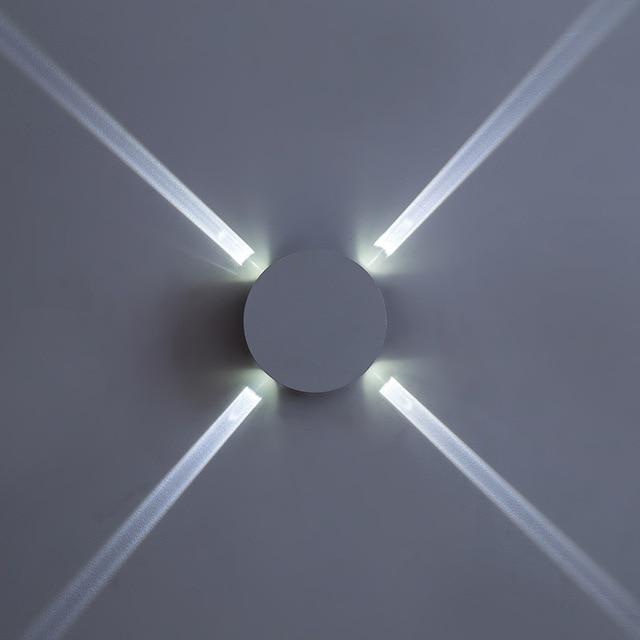 110 220v Aluminum Acrylic Lamp Led Wall Light Wandlamp Lighting Wall ...