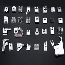 30/32/48/52 piezas Mini máquina de coser prensatelas pies para Brother Singer Janome Presser pies trenzado punto ciego Darning