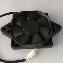 NEW 12 Volt Oil Cooler Radiator Cooling Fan For 200 250 cc Chinese ATV Quad Go Buggy Dirt Bike Motorcycle