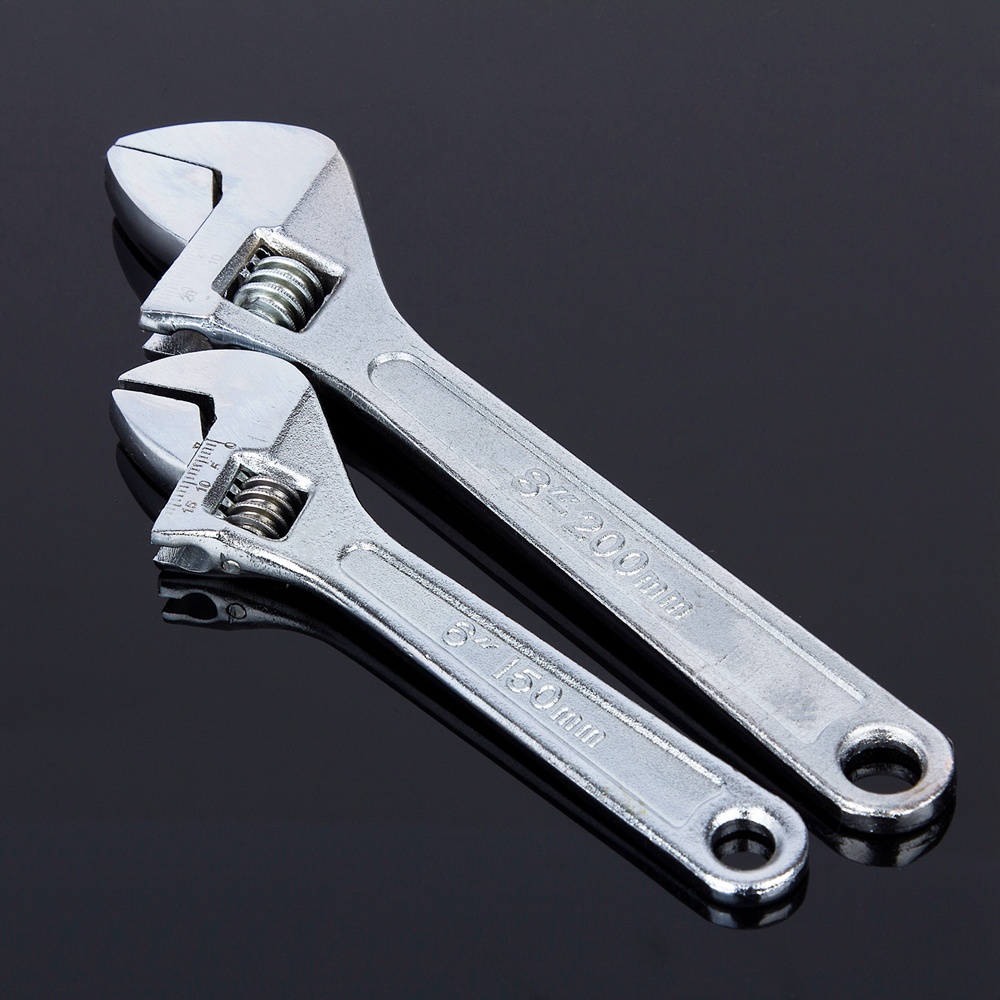 CRAFT-PRO 10-250MM Forged Steel Adjustable Wrench Spanner