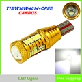 2x New Canbus Free Error T15 LED Reverse Light W16W Canbus Clearance Lamp 906 921 Tail Light 912 Stop bulb 4014 32SMD CREE chip