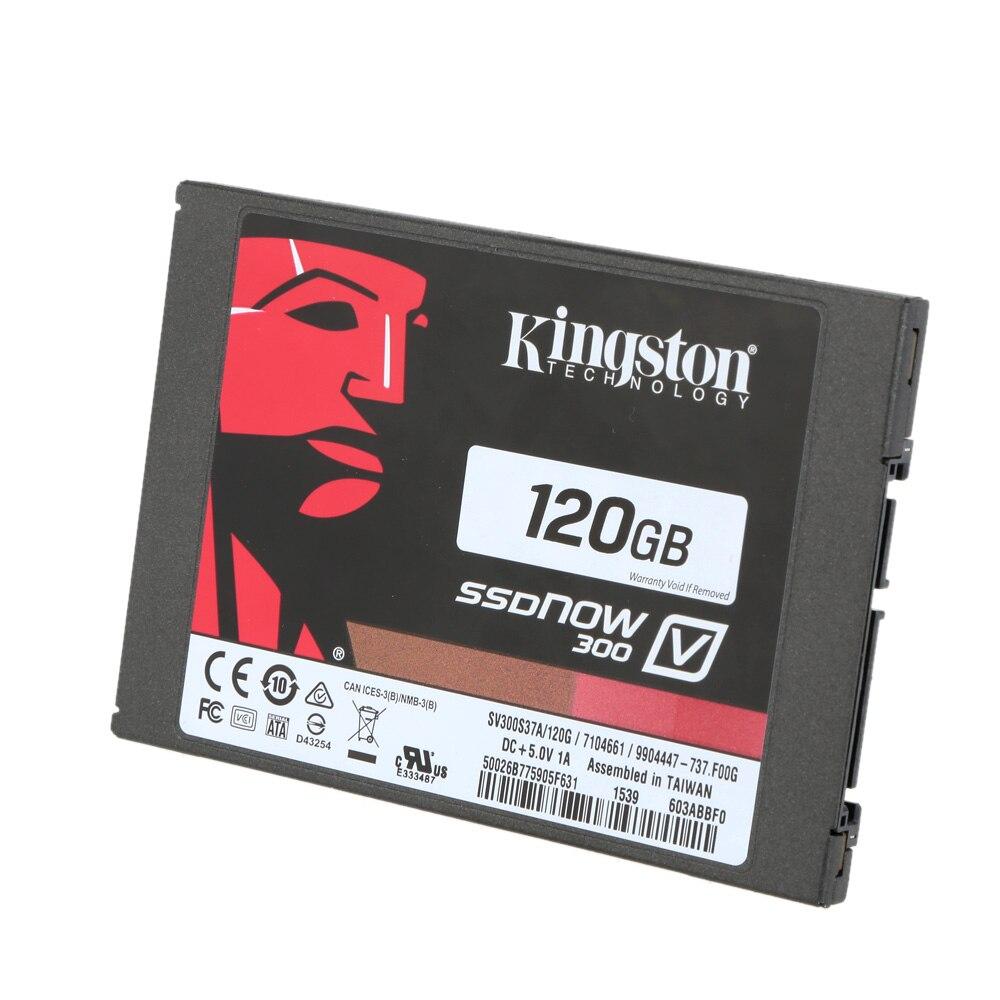 Kingston Original 120 GB SATA3 MLC alta velocidad portátil SSD Solid State Drive memoria Flash interna disco duro para Notebook portátil