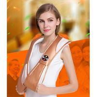 U Shape Electrical Back Shoulder Body Neck Massager Infrared Heated Kneading Car Home Massagerr Multifunctional Shawl
