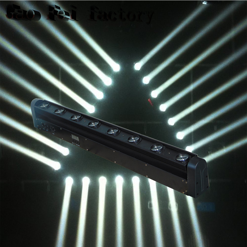 Cheap Sale 4in1 Mini Moving Head Led Bar Beam Light 8 Heads 12W RGBW Led Disco Light DJ Lighting Beam Moving Head Light
