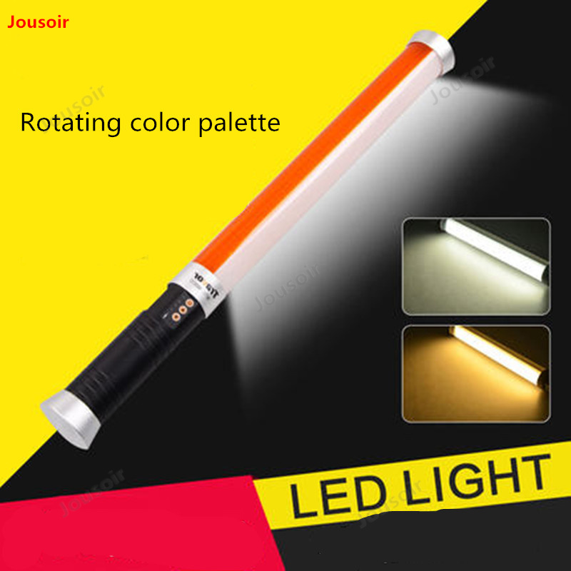 Mini portátil de Color doble temperatura fotografía recarga palo fuera disparando como lámpara pequeña palo de Luz Portátil CD50 T03
