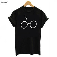 Lightning Glasses T Shirt Plus Size Shirt Tee High Quality SCREEN PRINT Super Soft Unisex Cute