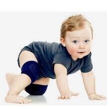 5 пара ребенка ползать Нескользящие Гольфы унисекс для малышей Наколенники защита колена bm88