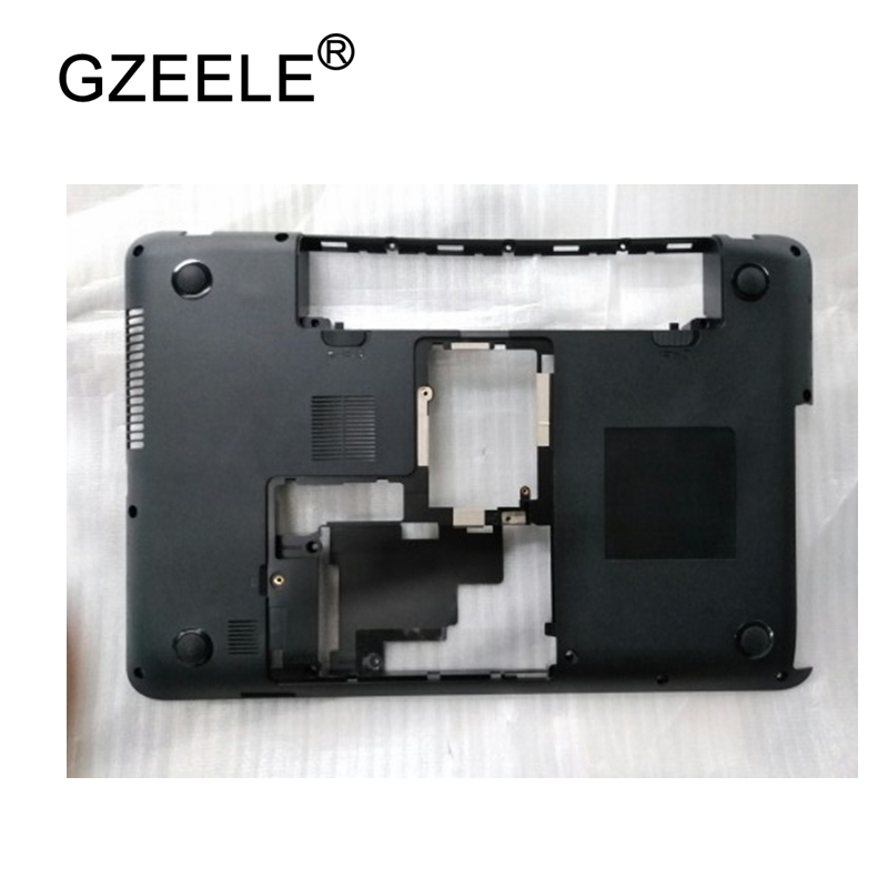 GZEELE New Laptop Bottom Base Case Cover For Toshiba C800 C805 C805D Base Chassis D Cover Case shell lower cover BLACK gzeele new laptop bottom base case cover for hp for elitebook 8560w 8570w base chassis d case shell lower case 652649 001 black