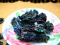 100g Bright Sparkly SILICON CARBIDE Crystal Mineral Specimen