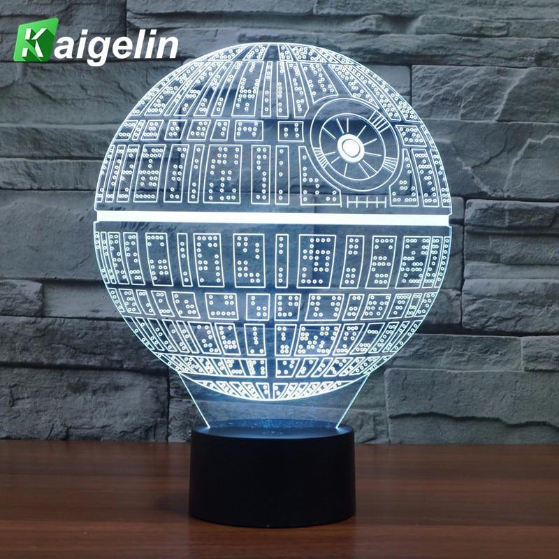 3D οδήγησε φως νυχτερινής όρασης - Φωτιστικό νύχτας