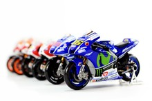 1:18 Scale Yamaha Rossi Moto GP 2014 2015 2016 Ducati 2015 Diecast Motorcycle Toy Collecion Racing Bike Models for Kids Gift(China)