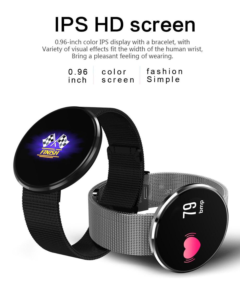 CF006 Bracelet intelligent Sport bande intelligente tension artérielle fréquence cardiaque gps Bluetooth Bracelet IP67 montre étanche pour Android IOS